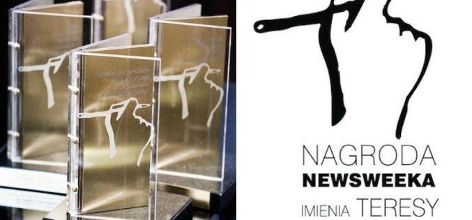 Znamy laureatów VI edycji konkursu Nagroda Newsweeka im. Teresy Torańskiej