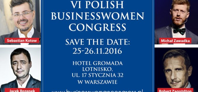 MT Biznes patronem VI POLISH BUSINESSWOMAN CONGRESS