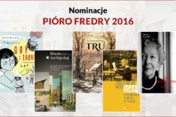 Znamy nominacje do Pióra Fredry 2016 – Książka Roku!