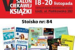 Wydawnictwo Edgard zaprasza na stoisko 84  podczas VI Salonu Ciekawej Książki w Łodzi!