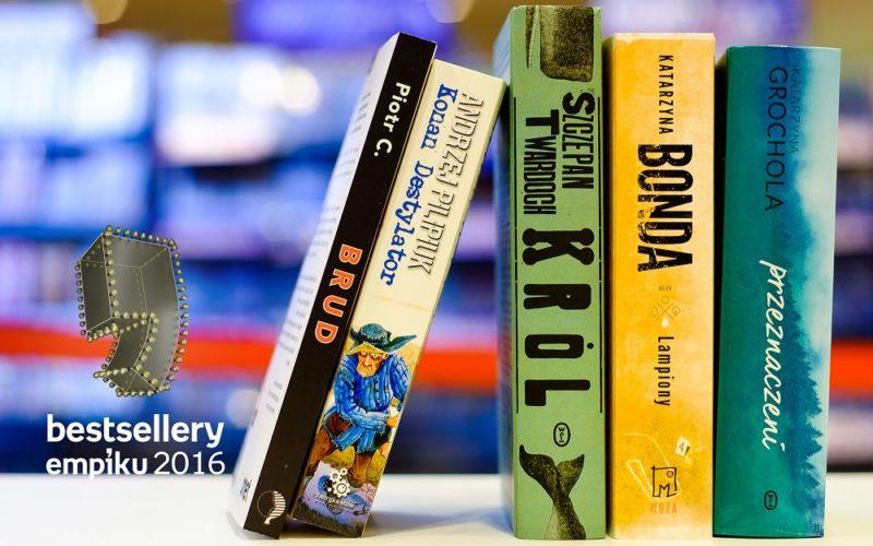 Bestsellery Empiku 2016 – znamy nominacje książkowe