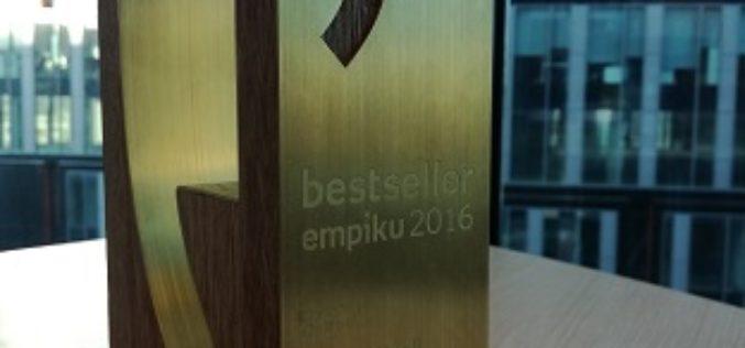 Bestseller Empiku i dwie nominacje to sukces zespołowy całej ekipy Wydawnictwa Burda Książki. Bardzo Wam za niego dziękuję!
