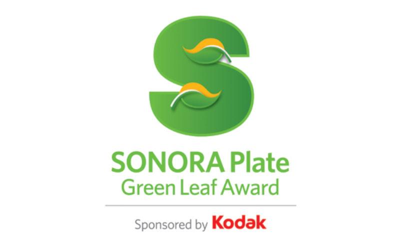 """""""Kodak ogłasza zwycięzców nagrody Sonora Plate Green Leaf Award za 2016 rok"""