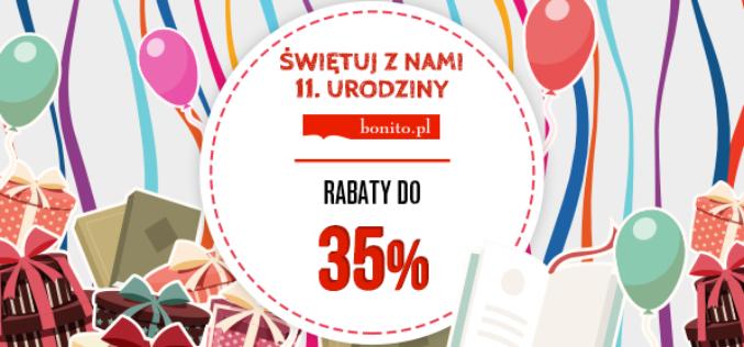 11. urodziny księgarni internetowej Bonito.pl