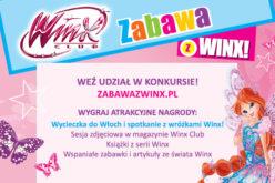 Wielki konkurs z wróżkami Winx! Wspaniałe nagrody dla dzieci!