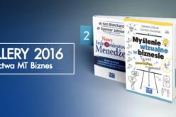 Bestsellery 2016 Wydawnictwa MT Biznes
