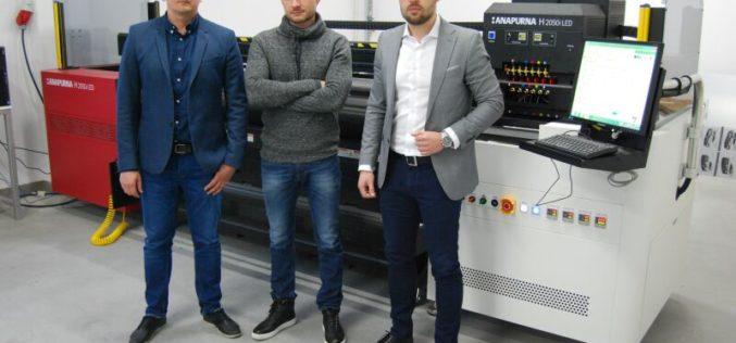Jeden z pierwszych w Polsce ploterów Anapurna H2050i LED w firmie Plexitech