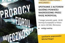 Kim Leine w Polsce. Spotkanie z autorem książki nagrodzonej przez Radę Nordycką!