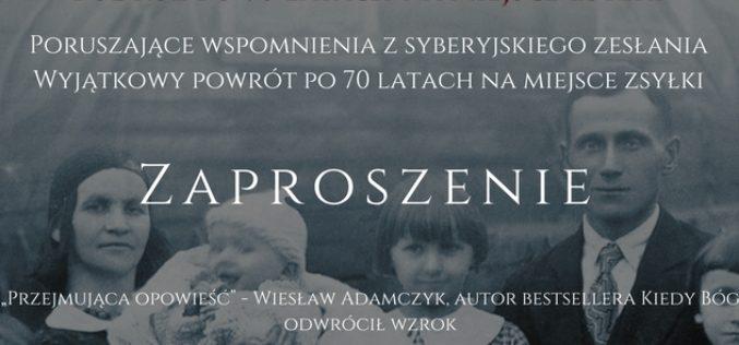 Zaproszenie na promocję książki KROMKA CHLEBA Dagmary Dworak oraz emisję filmu pod tym samym tytulem (kino RIALTO)