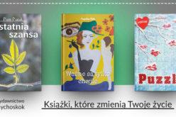 Książki, które zmienią Twoje życie – poleca wydawnictwo Psychoskok