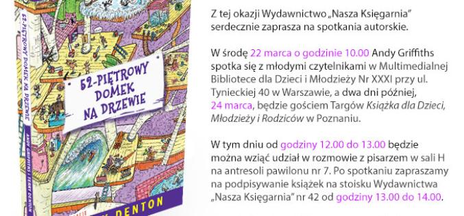 """Autor serii """"Domek na drzewie"""" zawita do Polski"""