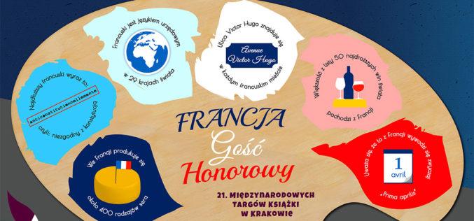 Francja gościem honorowym 21. Międzynarodowych Targów Książki w Krakowie