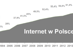23,5 mln Polaków korzysta z internetu