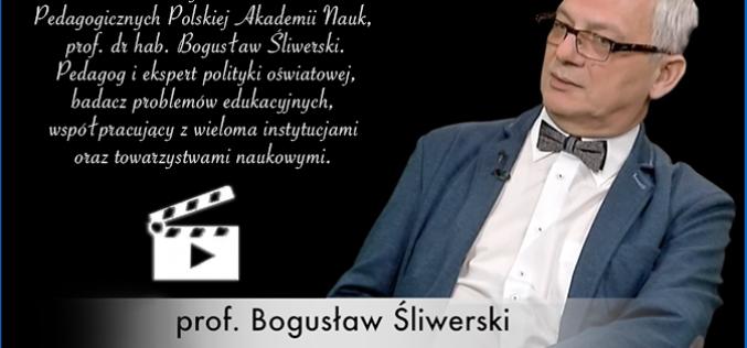 Wywiad z prof. Bogusławem Śliwerskim