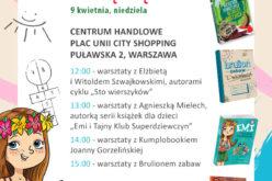 Wydawnictwo Wilga na Festiwalu Książki Dziecięcej Przecinek i Kropka