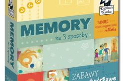 Kapitan Nauka przedstawia nową grę w bestsellerowej serii: Memory na 3 sposoby Zabawy podwórkowe