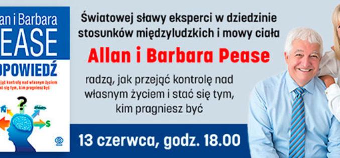 Allan i Barbara Pease w Warszawie