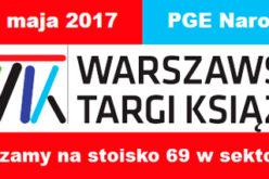 Wydawnictwo Uniwersytetu Jagiellońskiego na Warszawskich Targach Książki