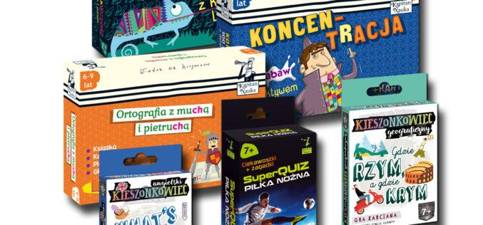 Najlepsze prezenty na Dzień Dziecka dla uczniów – poleca Kapitan Nauka