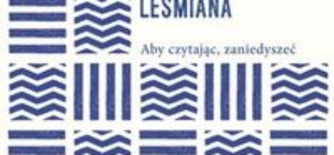 Państwowy Instytut Wydawniczy i Instytut Książki  zapraszają na promocję  Poezji zebranych Bolesława Leśmiana