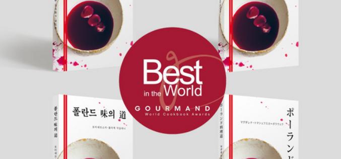 """""""Gourmand World Cookbook Awards dla ksiązki Magdaleny Tomaszewskiej-Bolałek """"Polish Culinary Paths"""""""
