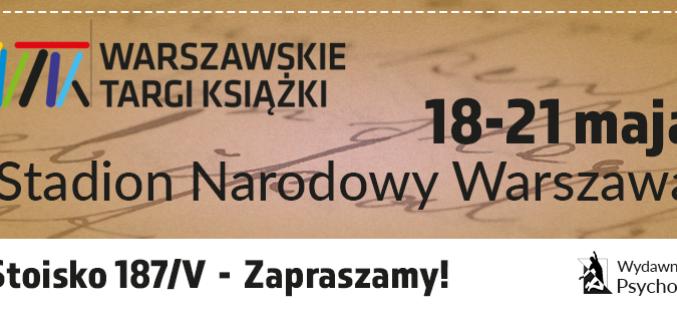 8. Warszawskie Targi Książki  – spotkania z autorami (sobota, niedziela) – Wydawnictwo Psychoskok