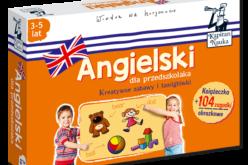 Nowość w serii Kapitan Nauka: pakiet Angielski dla przedszkolaka