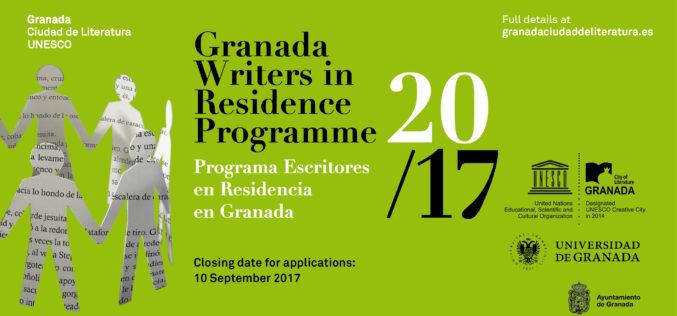 Granada Miasto Literatury UNESCO – ogłasza nabór do programu rezydencji literackich