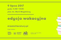 Krakowski Kiermasz Książki – edycja wakacyjna