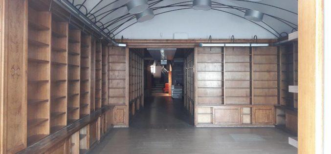 Mole zadomowiły się w najstarszej księgarni w Europie