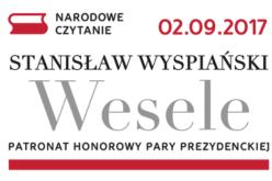 """Para Prezydencka zaprasza do Narodowego Czytania """"Wesela"""""""