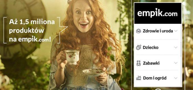 Nowa kampania reklamowa Empiku – Alicja w Krainie Czarów, Ojciec Chrzestny, Nad Niemnem