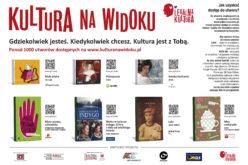 Płyty i książki w pociągach. Kultura Na Widoku w PKP Intercity
