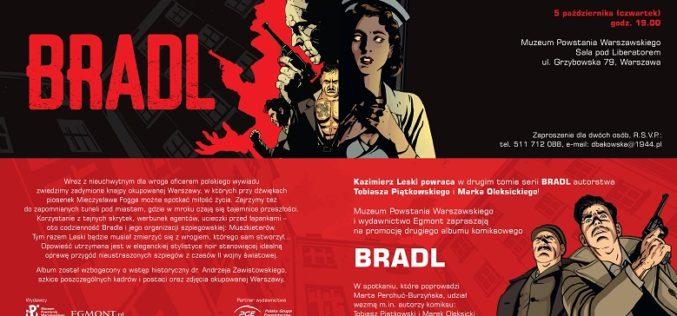 Kazimierz Leski powraca w drugim tomie serii komiksowej BRADL