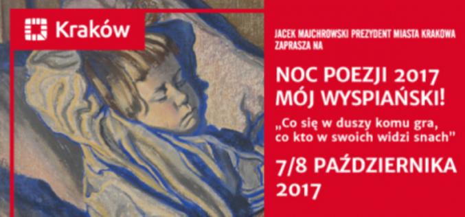 Noc Poezji w Krakowie – Mieście Literatury UNESCO