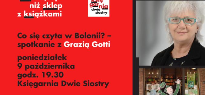 Co się czyta w Bolonii? – spotkanie z Grazią Gotti