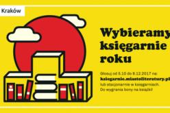 Wybieramy krakowskie księgarnie roku! Zagłosuj!