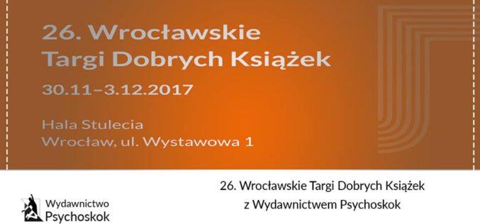26. Wrocławskie Targi Dobrych Książek z Wydawnictwem Psychoskok