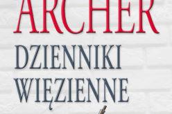 Dzienniki więzienne J. Archera od 6 grudnia w księgarniach!