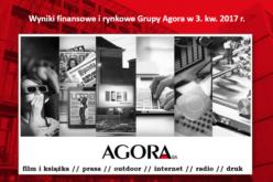 Wyniki finansowe Grupy Agora w 3. kwartale 2017 r.