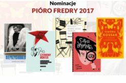 Pióro Fredry 2017. Znamy nominacje!