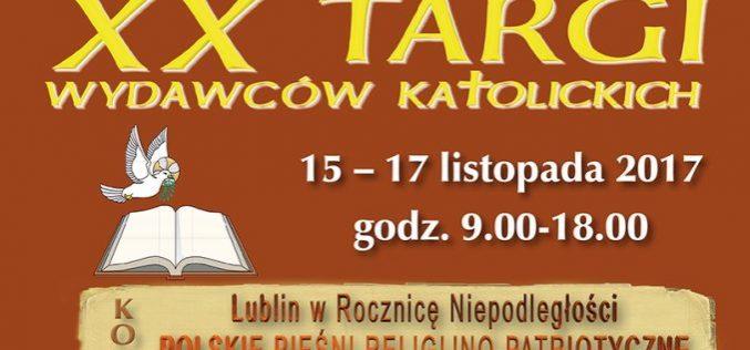 XX Targi Wydawców Katolickich w Lublinie – KUL 15-17.11.2017