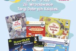 Kapitan Nauka zaprasza na stoisko nr 16 podczas Targów Dobrych Książek we Wrocławiu!