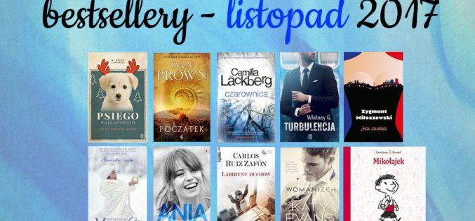 Bestsellery księgarni TaniaKsiazka.pl – listopad 2017