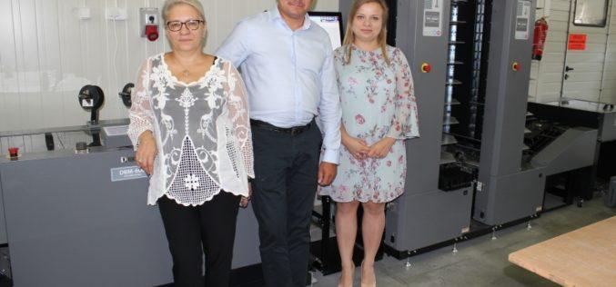 Inwestycja drukarni Iwonex  w system Duplo