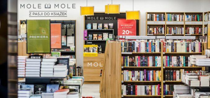 20 księgarni MOLE MOLE w pół roku – intensywny rozwój nowego formatu Grupy Empik