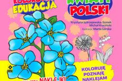 Kolorowa edukacja.  Kwiaty Polski
