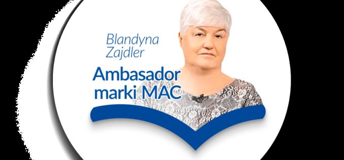Blandyna Zajdler ambasadorem marki MAC