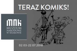 Teraz komiks! Wystawa w Muzeum Narodowym w Krakowie