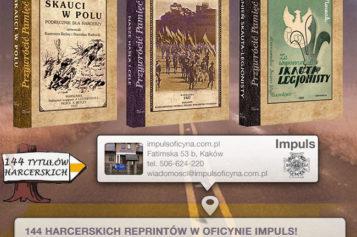 Trzy nowe reprinty harcerskie poleca Oficyna Impuls